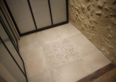 Carreaux avec motifs effet carreaux ciment