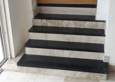Habillage marches escalier